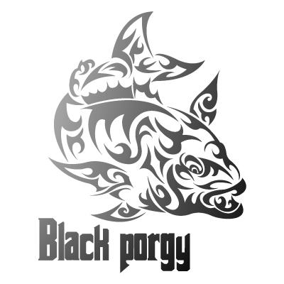トライバル黒鯛